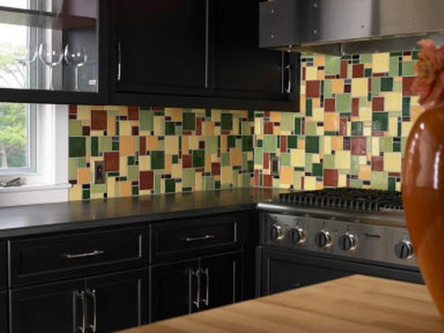 Modern wall tiles for kitchen backsplashes popular tiled wall design ideas Modern kitchen design tiles