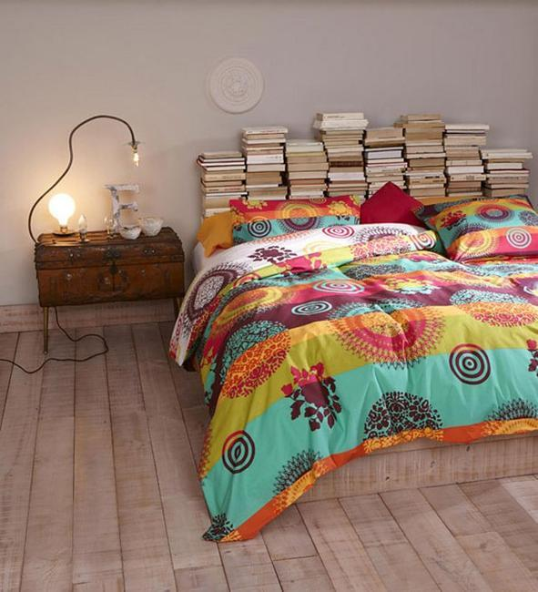 Unique Bedroom Decorating Ideas: 22 Creative Bed Headboard Ideas To Design Unique And