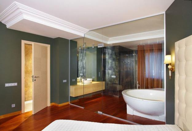 Glass Partition Wall Design Ideas And Room Dividers Separating Delectable Bathroom Partition Wall Interior