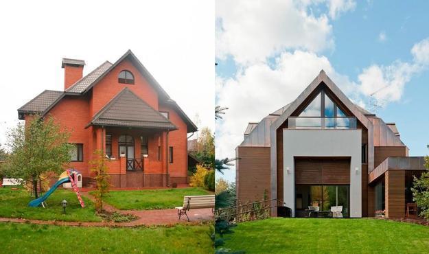 home renovation and interior redesign, contemporary house