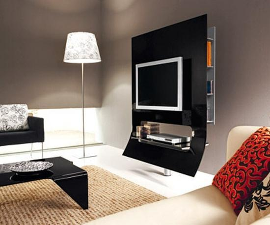 Contemporary Interior Design In Minimalist Style, Decluttering and ...