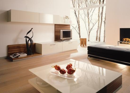 Contemporary Interior Design In Minimalist Style Decluttering And