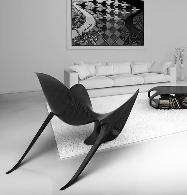 wonderful futuristic metal furniture design | Futuristic Modern Chairs from Italy, Contemporary ...