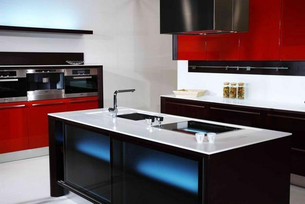 modern kitchens and decorating materials for kitchen cabinets and island designs