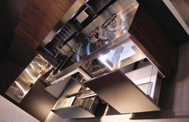 Innovative And Unique Modern Kitchens Designed With Stone