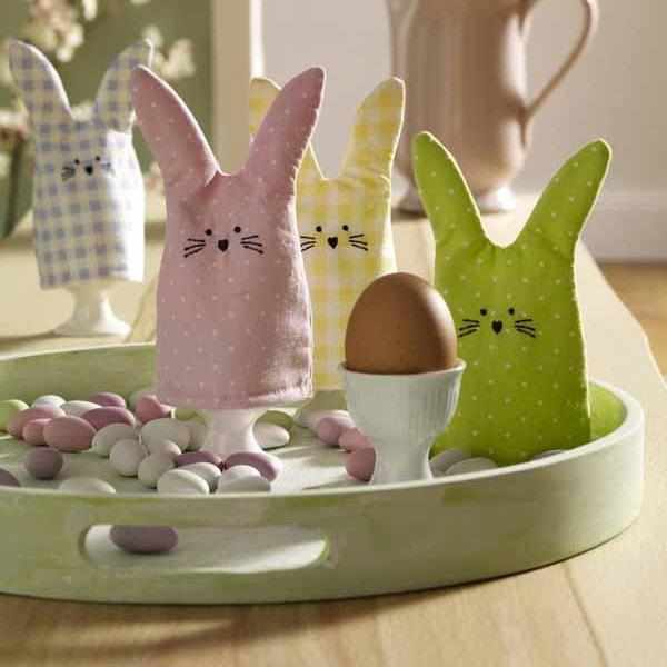 10 Easy Easter Bunny Crafts And Handmade Table Decoration Ideas