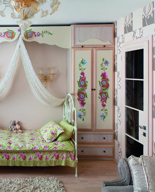 21 Creative Accent Wall Ideas For Trendy Kids Bedrooms: 30 Beautiful Girl Room Design And Decor Ideas Enhanced By