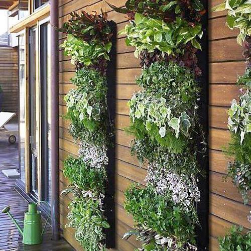 22 space saving ideas for green walls and vertical garden design rh lushome com