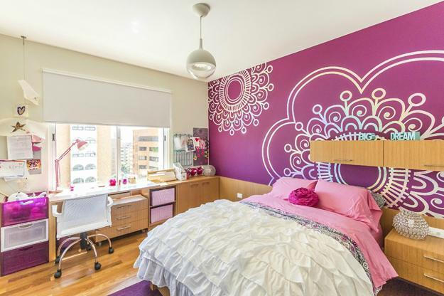 30 Beautiful Girl Room Design and Decor Ideas Enhanced by Bright ...