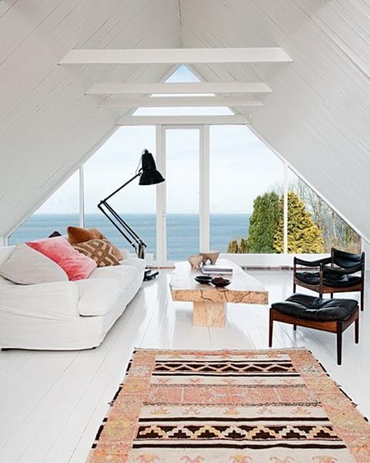 House Beautiful Large Living Rooms: Glass Walls And Big Windows For No Boundaries Inteiror