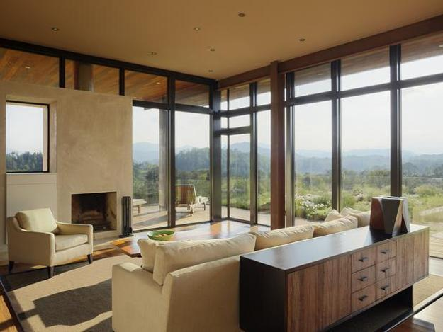 Big Houses Interior Living Rooms