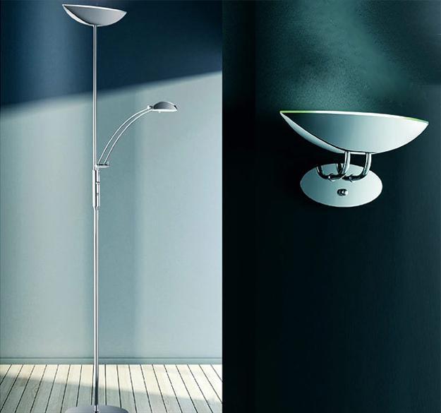 Elegant Modern Lighting Fixtures From Trio Space Saving