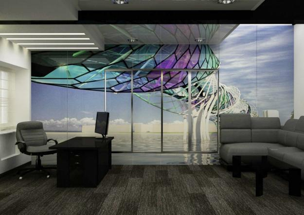 Modern Office Decorating And Contemporary Furniture