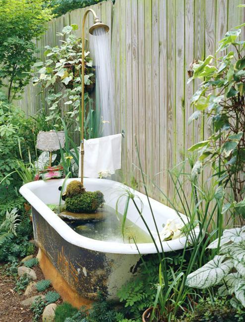 Beautiful Yard Landscaping Ideas, Ponds, Stones And Green Plants