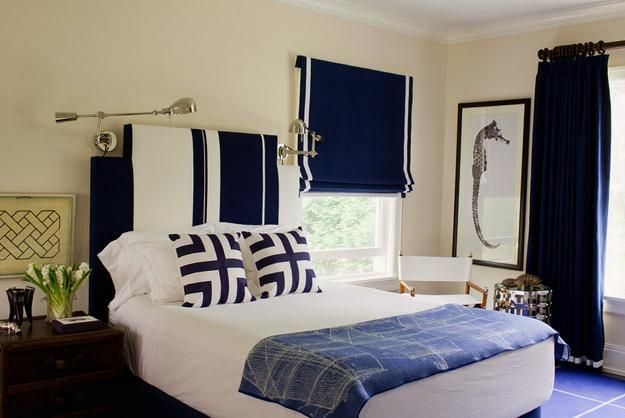 bedroom shades ideas low budget interior design20 roman shades and curtain ideas creating beautiful modern bedroomdark blue and white bedroom decorating ideas