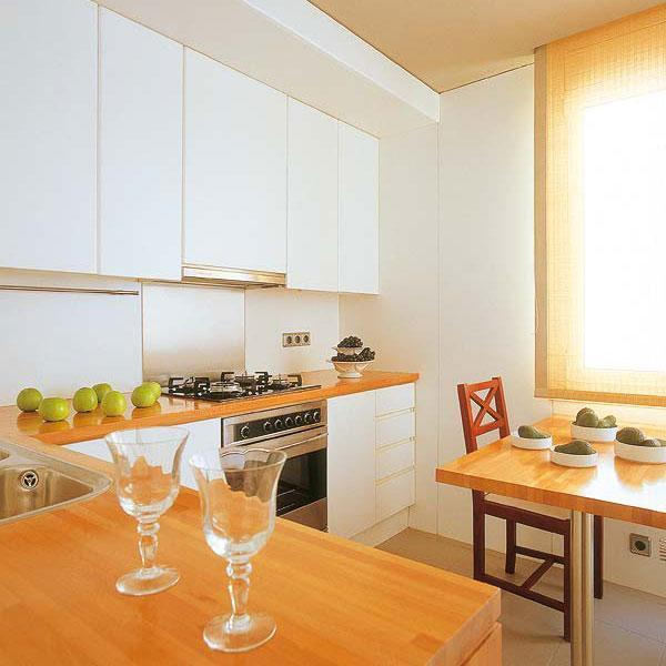 Small Kitchens And Space Saving Ideas To Create Ergonomic