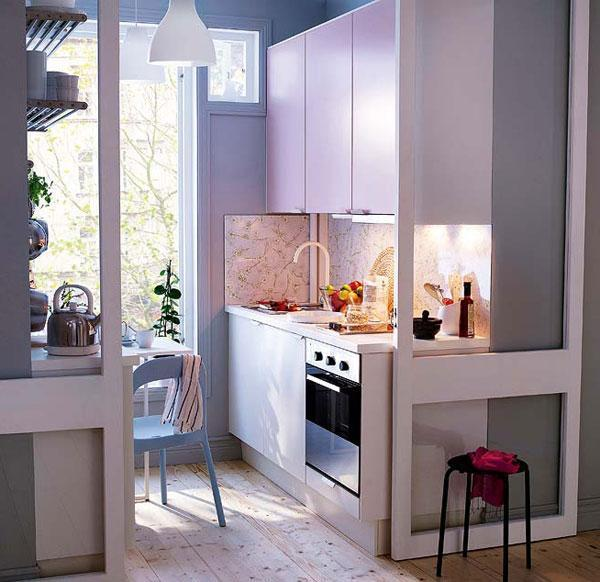 27 Space Saving Design Ideas For Small Kitchens: Small Kitchens And Space Saving Ideas To Create Ergonomic