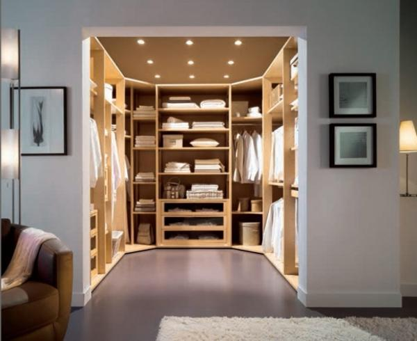 Charmant Space Saving Walk In Closet Design, Modern Bedroom Ideas