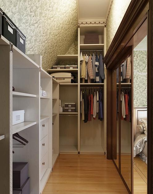 33 walk in closet design ideas to find solace in master for Designs for walk in closets