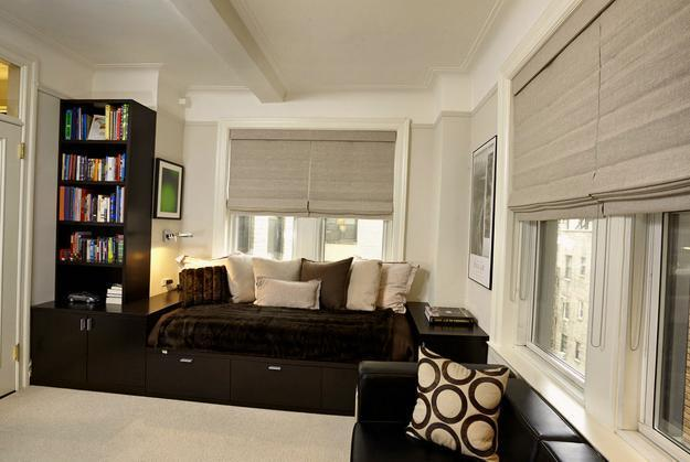 25 roman shades and curtain ideas to harmonize modern - Modern window treatment ideas ...