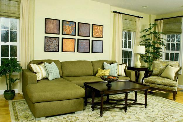25 roman shades and curtain ideas to harmonize modern for Curtain ideas for small living room