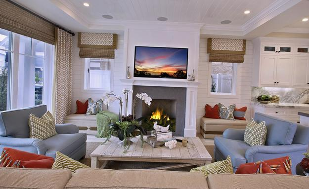 modern window treatments high end 25 roman shades and curtain ideas to harmonize modern living rooms with window coverings