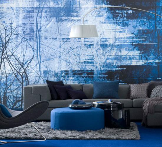 22 Ideas For Modern Interior Decorating With White And Blue Color