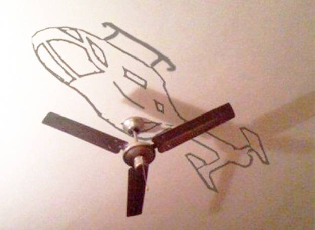 Unusual Fan Decorating Ideas And Creative Ceiling Designs