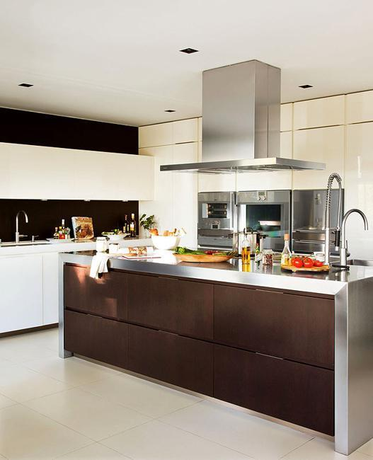 15 Contemporary Kitchen Designs With Stainless Steel: 25 Contemporary Kitchen Design Ideas And Modern Layouts