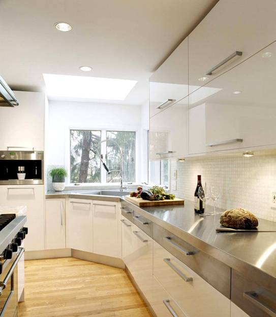 15 Contemporary Kitchen Designs With Stainless Steel