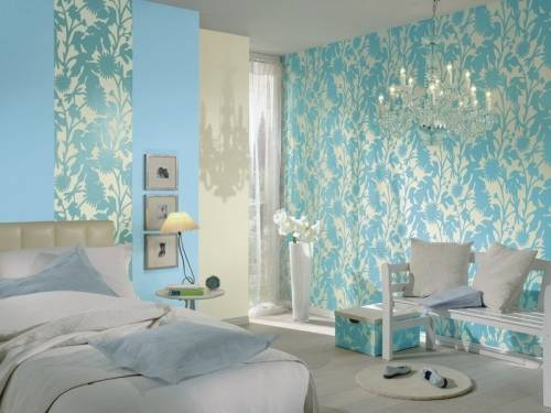 Modern Wallpaper For Covering Cracks And Wall Decoration