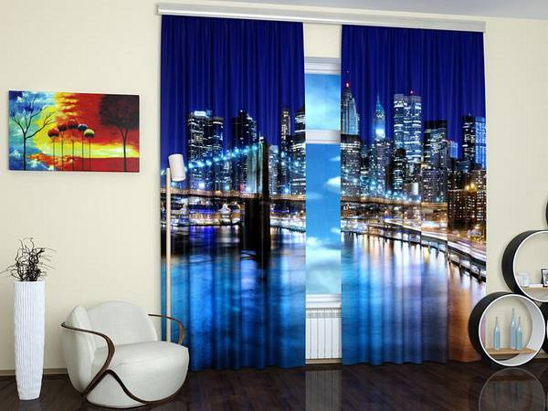 digital printing for interior decorating, window coverings with colorful prints