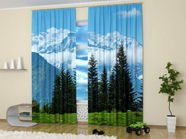 Window Curtains To Enhance Modern Interior Design With