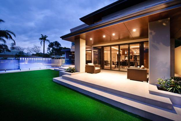 Attractive Outdoor Lighting Ideas For Modern House Design