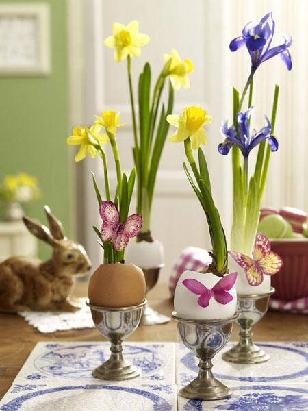 Etonnant Spring Table Decorating Ideas, Floral Table Centerpieces And Craft Ideas To  Recycle Egg Shells