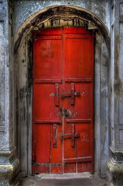 Feng Shui Entrance Door Color