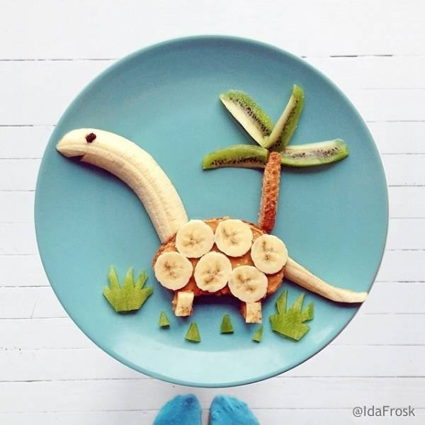 Food Design Ideas: Food Decoration, Art And Design Ideas Creating Colorful Snacks