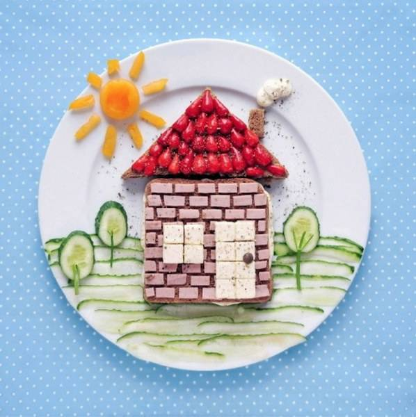 Food Design Ideas: Creative Food Decoration And Design Ideas To Make Kids Eat
