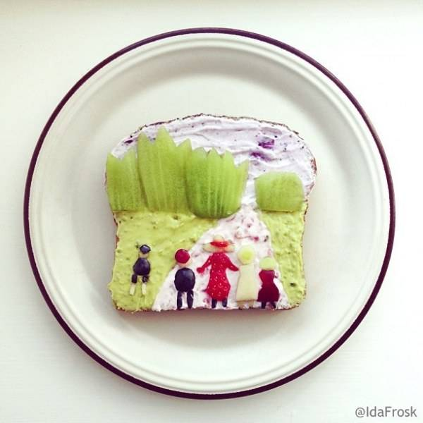 Food Decoration Art And Design Ideas Creating Colorful Snacks