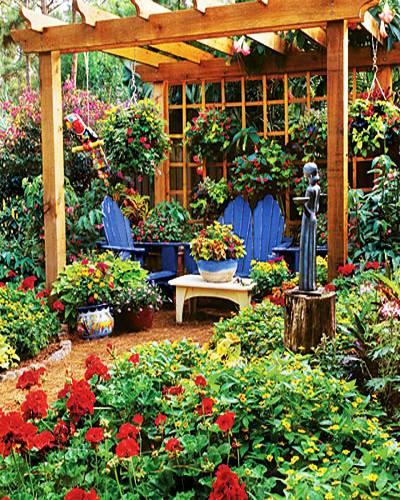20 Unique Garden Design Ideas To Beautify Yard Landscaping: 15 Beautiful Metal Or Wooden Gazebo Designs And Garden