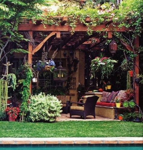 10 Ways To Create A Backyard Oasis: 15 Beautiful Metal Or Wooden Gazebo Designs And Garden