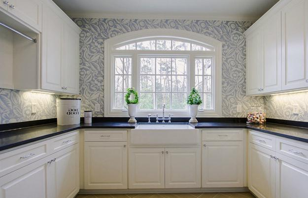 Wallpaper Designs For Kitchen Simple Ideas
