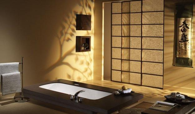 Asian bathroom contemporary