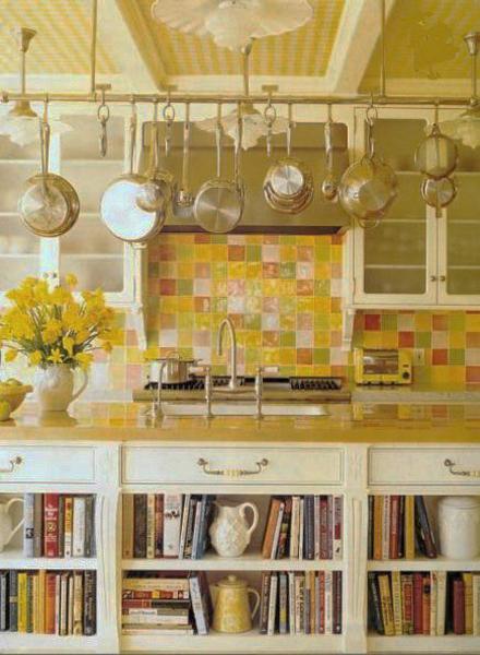 inspiring bright color kitchen design   Yellow Kitchen Colors, 22 Bright Modern Kitchen Design and ...