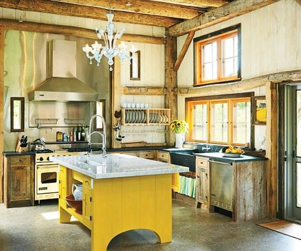 Bright Yellow Kitchen Walls: Yellow Kitchen Colors, 22 Bright Modern Kitchen Design And