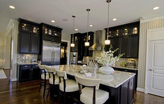 beautiful kitchen decor ideas bringing modern wallpaper