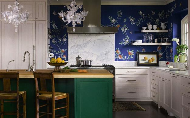 Beautiful Wallpapers And Kitchen Accent Wall Design Ideas