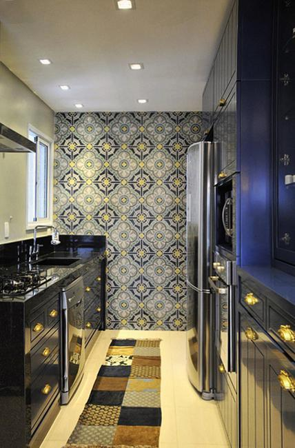 25 Beautiful Kitchen Decor Ideas Bringing Modern Wallpaper Patterns And Colors