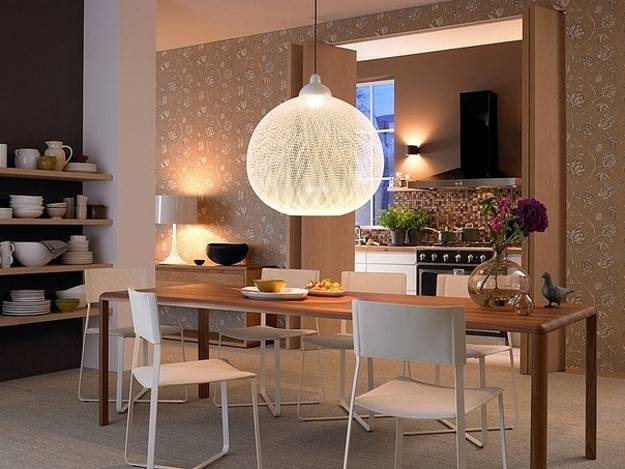 Modern Kitchen Design With Dining Area 15 Design And