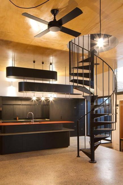 Orange Kitchen Colors  Modern Kitchen Design And
